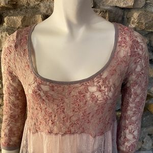 Free People Tops - Free People Tiered Lace Top Size XS